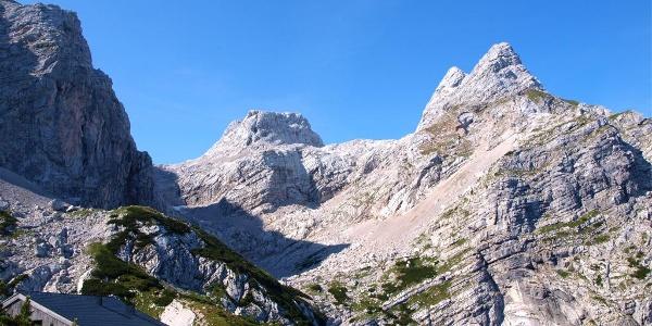 Welserhütte 1726 m mit Schermberg