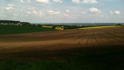 Blick über Thulbach Richtung Landshut
