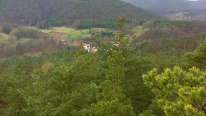 Blick auf Dimbach vom Kaftenstein