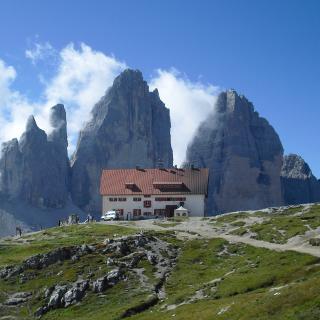 Dreizinnen und Dreizinnenhütte