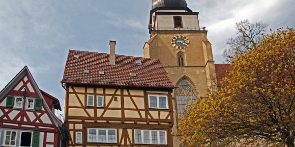 Die Herrenberger Stiftskirche