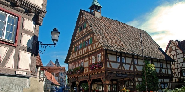 Das Strümpfelbacher Rathaus