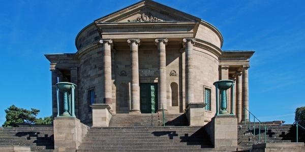 Die Grabkapelle auf dem Rotenberg