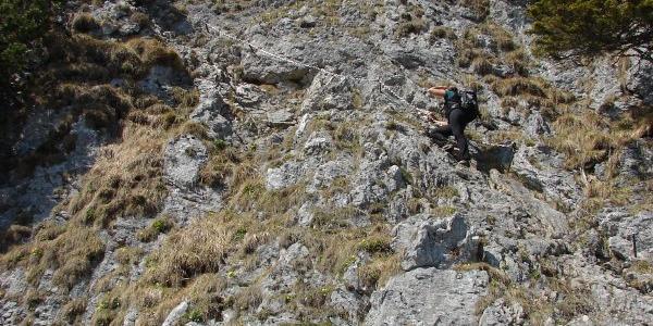 Klettersteig am Ettaler Manndl