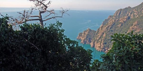 Über dem Golfo Paradiso