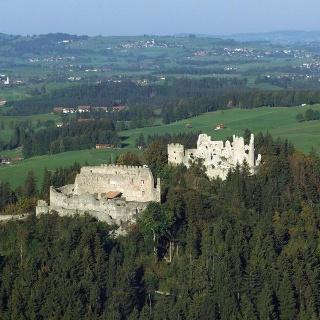 Burgruinen Hohenfrey- und Eisenberg
