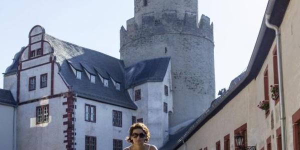 Radtour zur Osterburg Weida