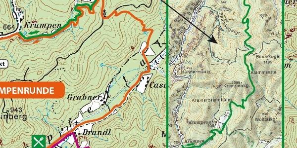 Ausschnitt aus der Karte 2