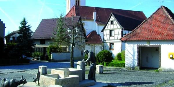 In der Altstadt von Aach