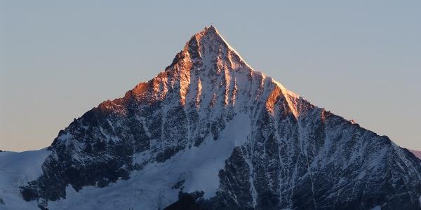 Vue sur le Weisshorn (4'506 m)