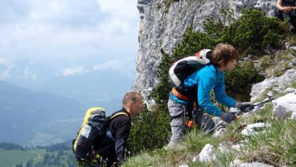 Ausstieg vom Klettersteig 1715 m