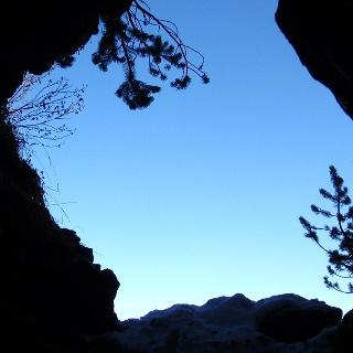 Höhlenkirche1615 m, wo sich die Protestanten versteckten.