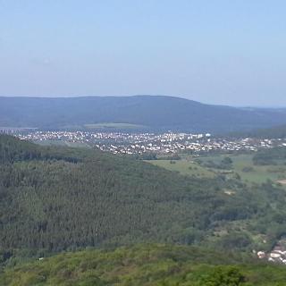 Richtung Westen nach Niedernhausen und dem Rhein-Taunus