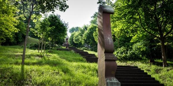Treppen zum Franziskanerkloster Engelberg