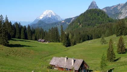 Schlagerbauerhütte 1214 m mit Grimming