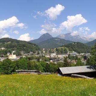 Herrlicher Ausblick auf Berchtesgaden