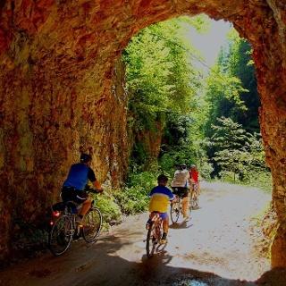 Hintergebirgsradweg, ein Erlebnis für Groß und Klein