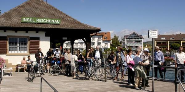 Insel Reichenau Karte.Schiffsanlegestelle Reichenau Schifffahrt Bodenseewest