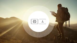 מסלולים שמלווים אותך לכל מקום: פורמט מודפס או פורמט דיגיטלי