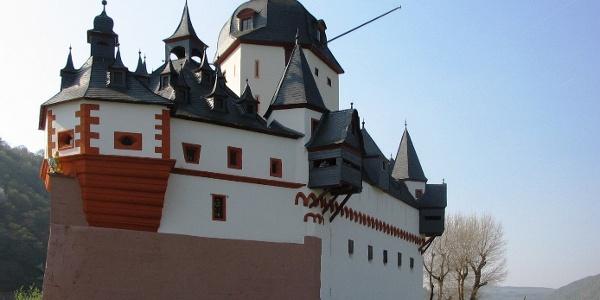 """Die Burg Pflazgrafenstein wird auch """"Die Pfalz"""" genannt."""