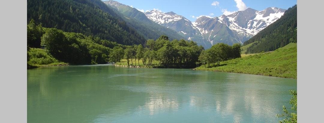 Small reservoir of the Fuscher Ache.