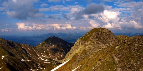 Hochleitenspitze 2.329 m am Morgen