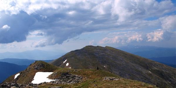 Kesseleck 2308 m vom Amachkogel gesehen