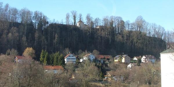 Blick auf den Westhang des Günztales in Ronsberg.