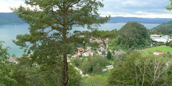 Blick von Burghalde auf den Überlinger See