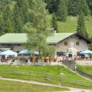 Die-Albert-Link-Hütte (1053m) DAV Sektion München