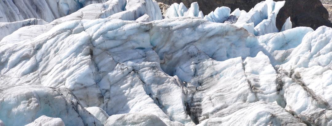 40 Minuten oberhalb des Taschachhauses: Eine einmalige Gletscherkulisse
