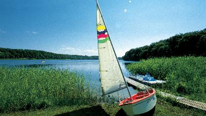 Segelboot in Mecklenburg-Vorpommern