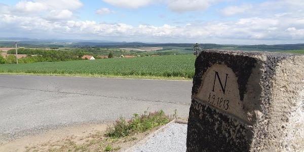 Blick von der Napoleonsäule bei Borna