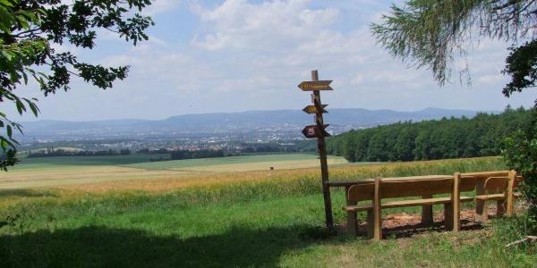 Ausblick in das Kasseler Becken