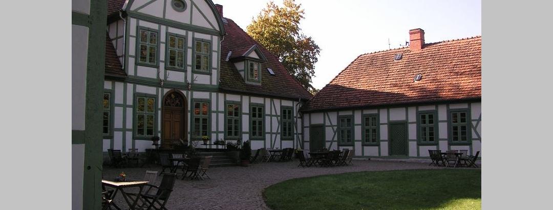 Das Jagdschloss Friedrichsmoor beherbergt auch ein gutes Restaurant.