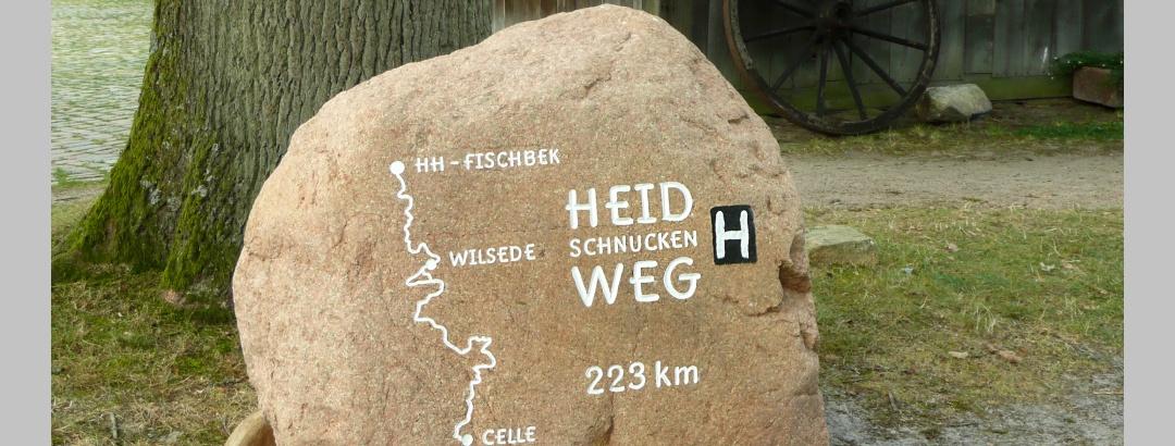 Heidschnuckenweg Stein