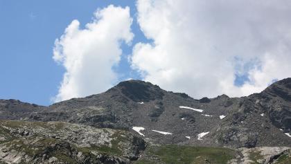 Das 2709 m hohe Hochkreuz.