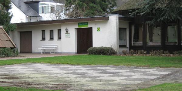 Gästepavillon in der Oldendorfer Schweiz