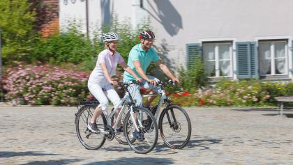 Radfahren Schwäbische Bäderstraße