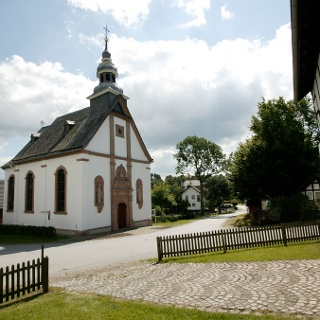 Barockkirche St. Johannes Evangelist in Berge