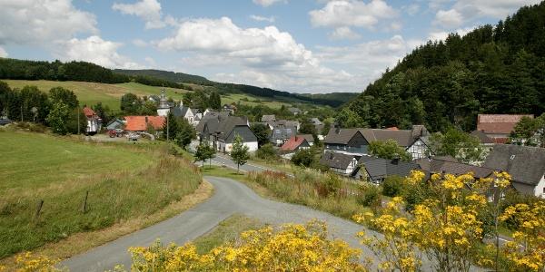 Blick auf Deifeld