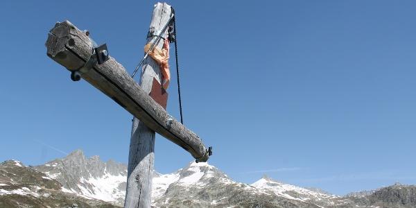Gipfelkreuz Las Palas