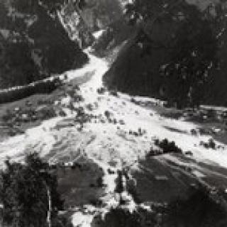 Hochwasser Vandans 1933