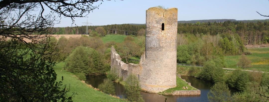 Water Castle Baldenau near Morbach-Hundheim