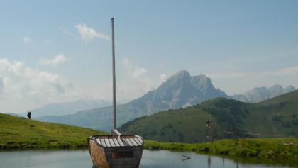 ...und mit Schiff (Juli 2014)