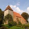 Zur Ausstattung der frühgotischen Kirche in Retschow gehört ein Mühlenaltar.