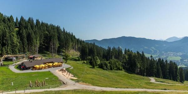 Wanderung - Schleifmühlklamm - Kolbensattelhütte