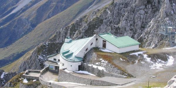 Die Bergstation der Nordkettenbahn.