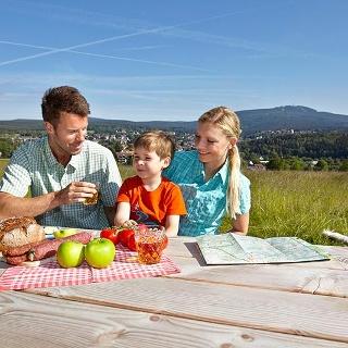 Picknick am Adamsblick