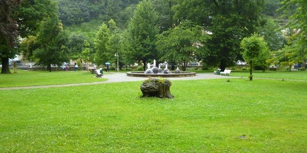 Kurpark in Bad Schandau
